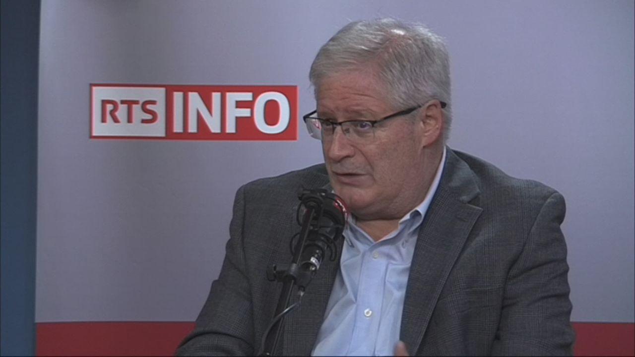 L'invité de Romain Clivaz (vidéo) - Jean Zermatten, président de la Commission de protection des enfants [RTS]