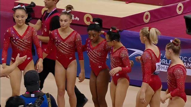 Gymnastique Artistique: Championnat du Monde Team, dames Finale [RTS]