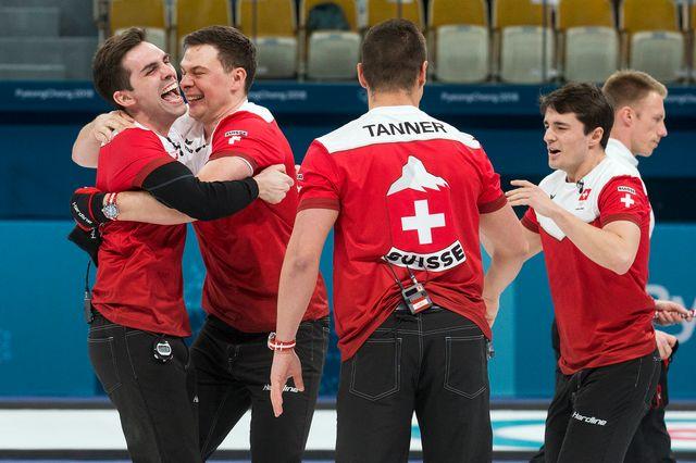 Médaillé olympique à PyeongChang, le Team Genève sera à nouveau de la partie dans une grande manifestation. [Alexandra Wey - Keystone]
