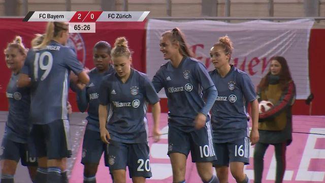 1-8e retour, Bayern Munich – FC Zurich (3-0): rien à faire pour le FC Zurich face au Bayern [RTS]