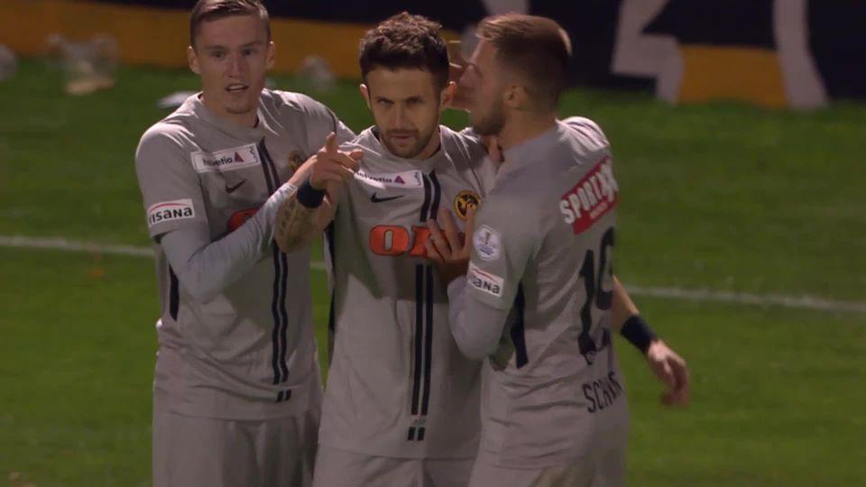 1-8e, Stade Nyonnais – Young Boys (0-1): YB sort le Stade Nyonnais grâce à un but de Sulejmani [RTS]