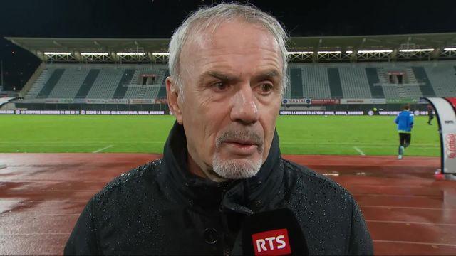 1-8e, Lugano – Neuchâtel Xamax (3-1): Michel Decastel au micro de RTSsport après la défaite neuchâteloise [RTS]