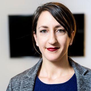 Jessica Jacoud, President of the Vaud Socialist Party. [Jean-Christophe Bott - Keystone]