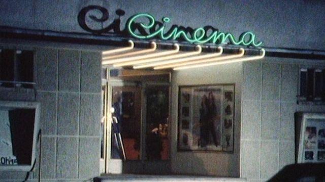 La fermeture des salles de cinémas en 1986. [RTS]
