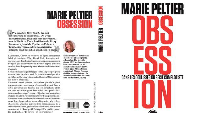 """""""Obsession, dans les coulisses du récit complotiste"""", de Marie Peltier. [Editions Inculte]"""