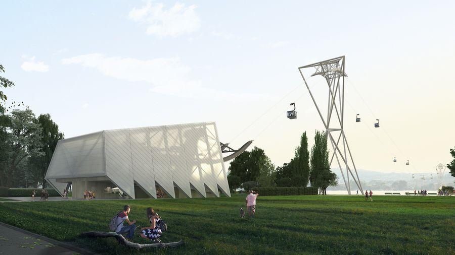 La silhouette du projet de téléphérique urbain dévoilée à Zurich