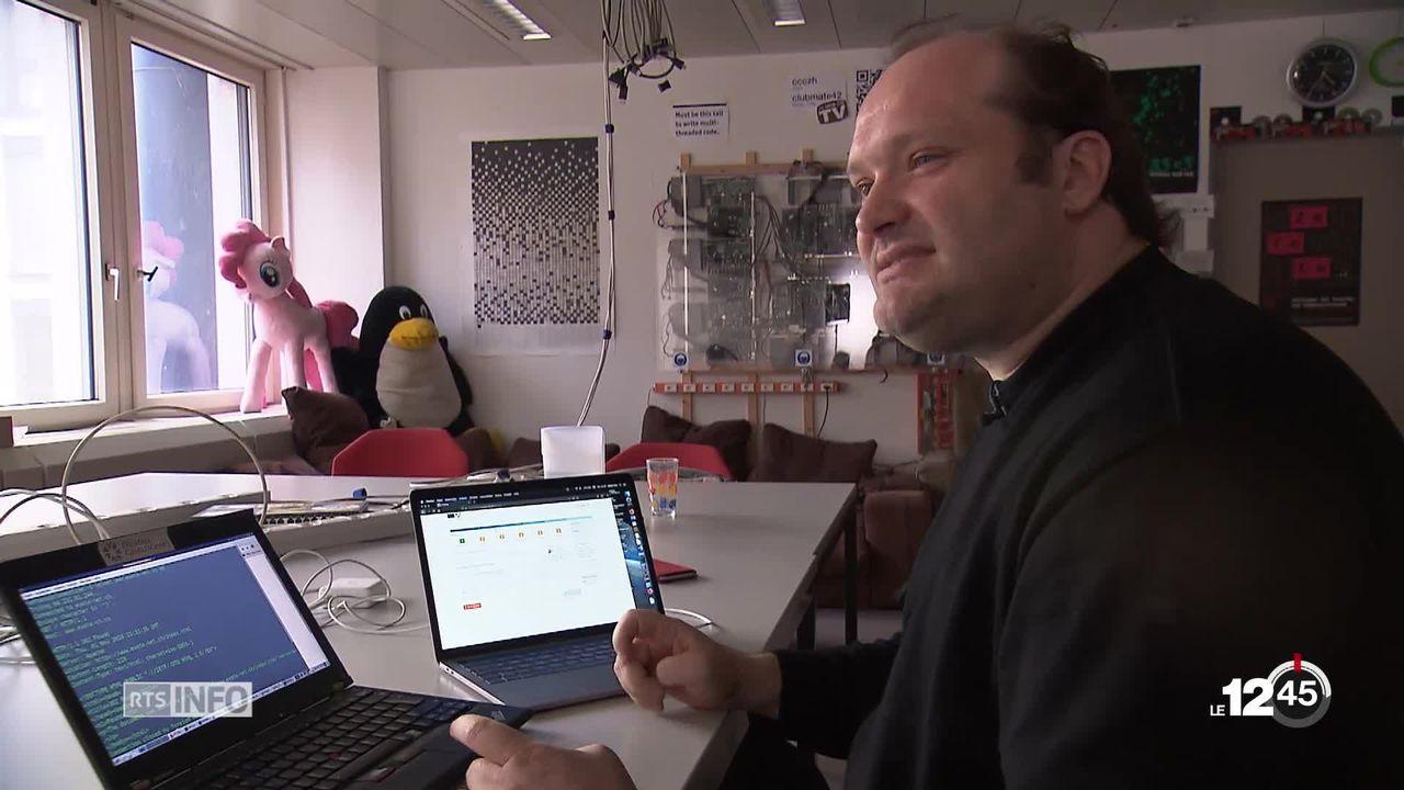 Le canton de Genève pointé du doigt sur les failles du vote en ligne. Un faux site a été mis en place par des pirates. [RTS]
