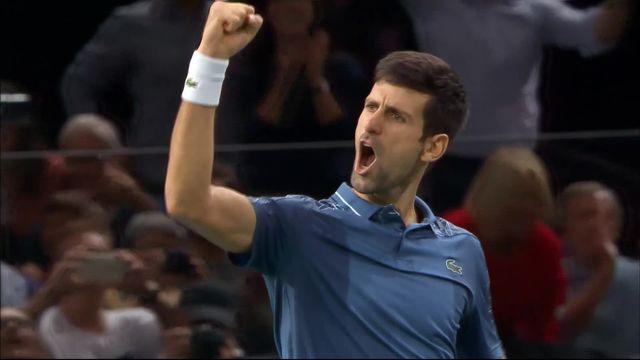 Paris-Bercy (FRA), 1-2 : Djokovic (SRB) - Federer (SUI), les meilleurs moments [RTS]