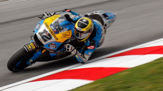 Thomas Lüthi attend toujours de débloquer son compteur en MotoGP. [Ahmad Yusni - Keystone]