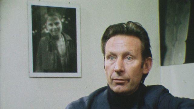 Le photographe suisse Jean Mohr en 1976. [RTS]