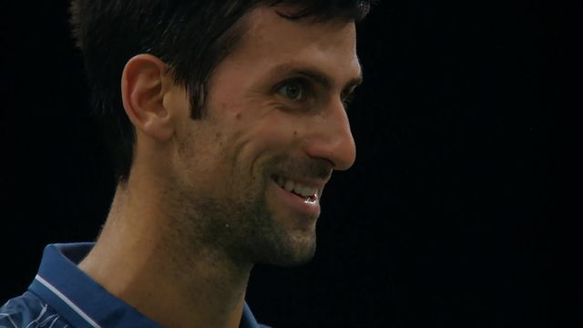 Tennis - Le point sur Djokovic & Federer après le tournoi de Paris Bercy [RTS]