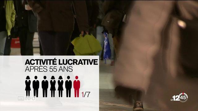 Le sort des plus de 55 ans sans emploi: plan de réforme présenté par la Conférence suisse des institutions sociales. [RTS]