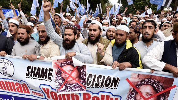 La Pakistanaise chrétienne Asia Bibi a obtenu l'asile au Canada 9972576