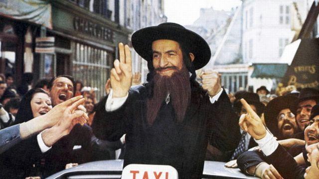 Il était une fois... Les aventures de Rabbi Jacob [Les films Pomereu - AFP]
