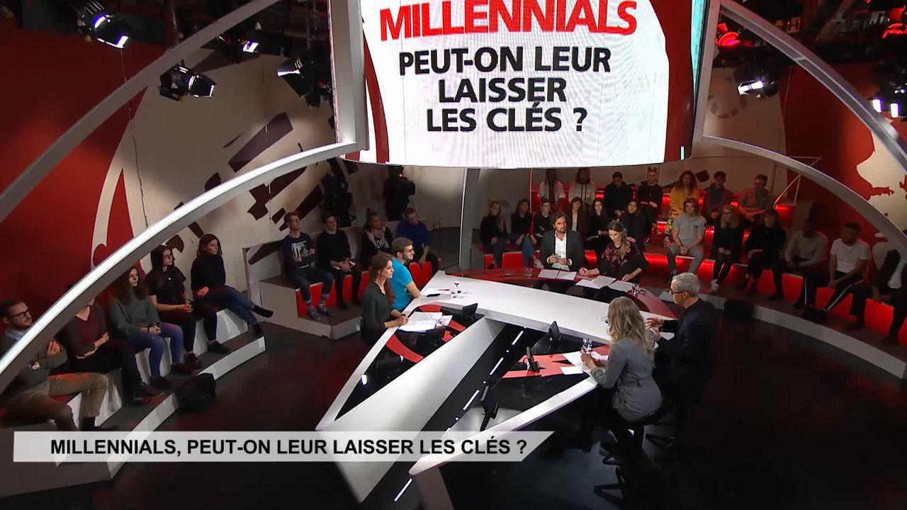 Millennials,  peut-on leur laisser les clés? [RTS]