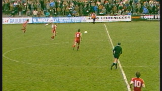 Football Coupe de Suisse  1982 - 1983 [RTS]