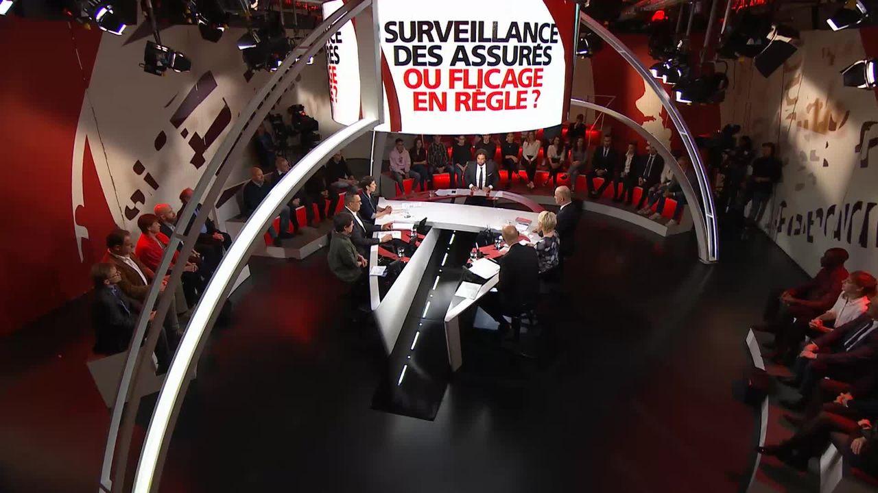 Spécial votation - Surveillance des assurés ou flicage en règle? [RTS]