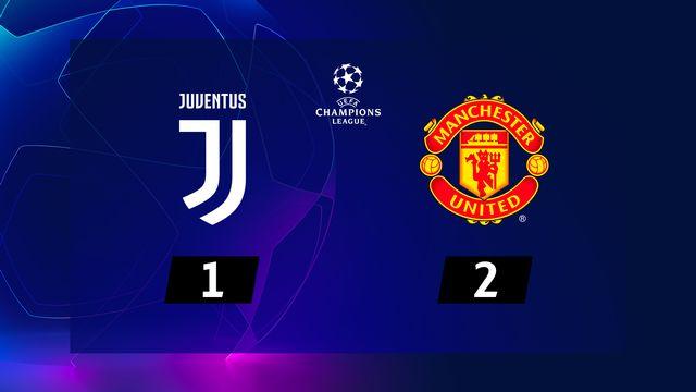 4e journée, Juventus – Manchester United (1-2): Man.U surprend la Juve en toute fin de match