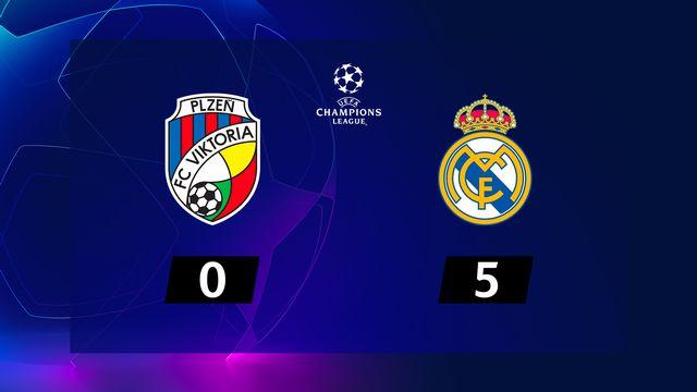 4e journée, Viktoria Plzen – Real Madrid (0-5): le Real reprend des couleurs à Plzen