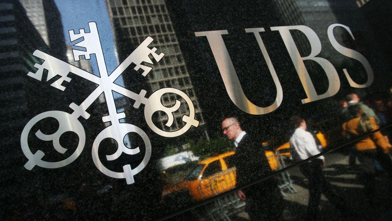 Un immeuble d'UBS au coeur de New York. [Mark Lennihan - AP/Keystone]