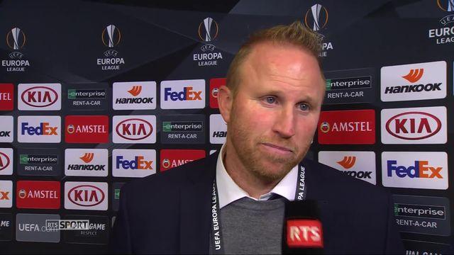 4ème journée, Bayer Leverkusen - FC Zurich (1-0): Ludovic Magnin fait le bilan du match [RTS]