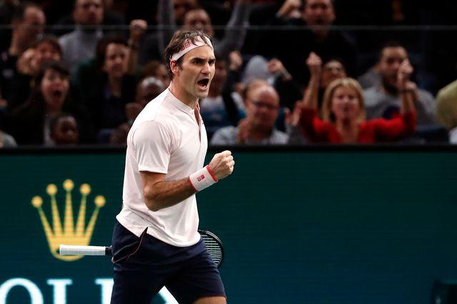 Federer vise un 100e titre dans sa carrière à Londres. [Thibault Camus - Keystone]