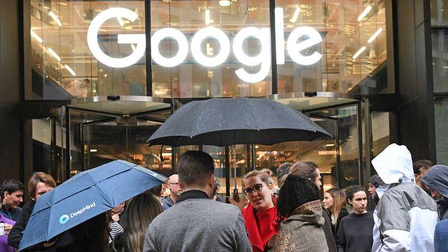 Le bureaux de Google à Granary Square, Londres. [Stefan Rousseau - Keystone]