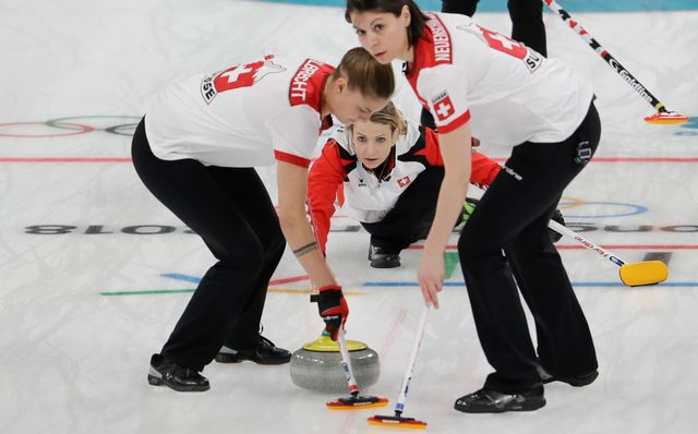 Curling 2018 [Natacha Pisarenko - Keystone]