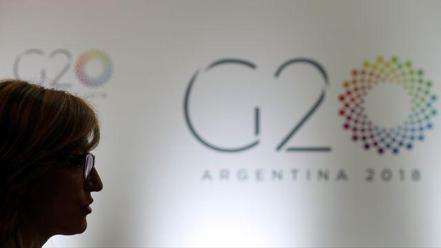 Ekaterina Zaharieva, ministre bulgare des Affaires étrangères, au sommet du G20 à Buenos Aires, le 21 mai 2018. [Reuters]