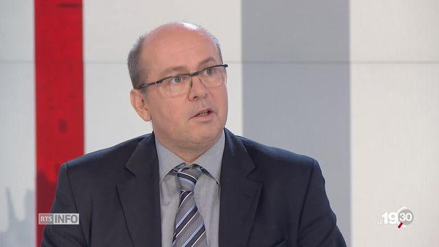 Philippe Wanner, démographe à l'Université de Genève, revient les raisons de la baisse du nombre d'enfants par femme [RTS]