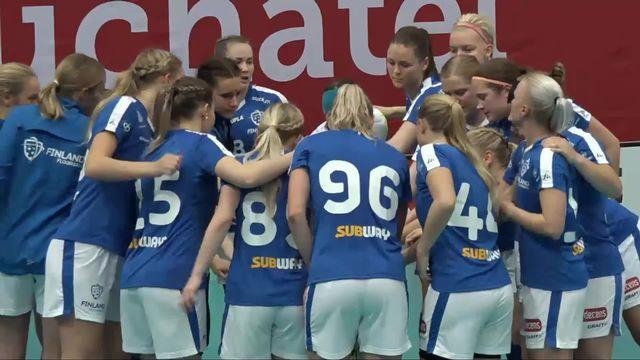 Unihockey, Euro Floorball Tour: Suisse - Finlande (5-8) [RTS]
