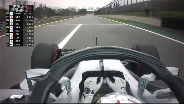 GP du Brésil (#20), Q3: Hamilton (GBR) devant Vettel (GER) et Bottas (FIN) [RTS]
