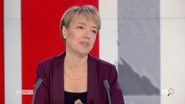 """Irène Herrmann, historienne: la grève générale d'Olten est """"une étape"""" vers la Suisse sociale moderne. [RTS]"""