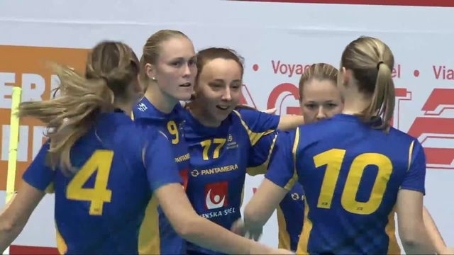 Unihockey, Euro Floorball Tour: Suisse - Suède (2-7) [RTS]