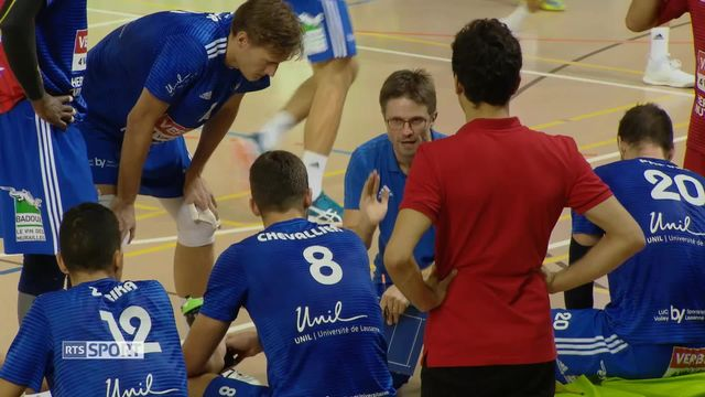 Volleyball: LUC - Chênois (3-0) [RTS]