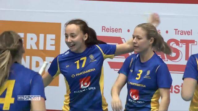 Unihockey, tour européen: Suisse - Suède (7-2) [RTS]