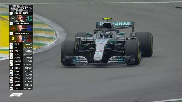 GP du Brésil: Lewis Hamilton prend la 1ère place devant Max Verstappen et Kimi Raikkonen [RTS]