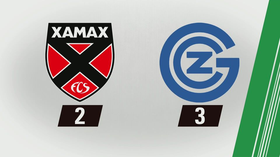 Super League, 14e journée: Neuchâtel Xamax - Grasshopper (2-3) [RTS]