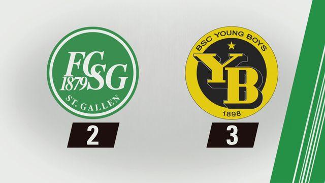 Super League, 14e journée: Saint-Gall - Young Boys (2-3) [RTS]