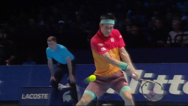 Round Robin, Roger Federer (SUI) - Kei Nishikori (JPN) (6-7) [RTS]
