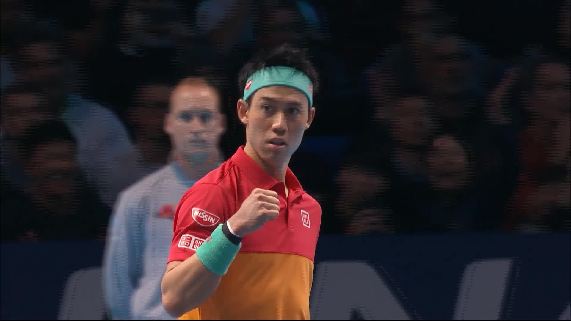 Anderson remporte le match inaugural — Nitto ATP Finals