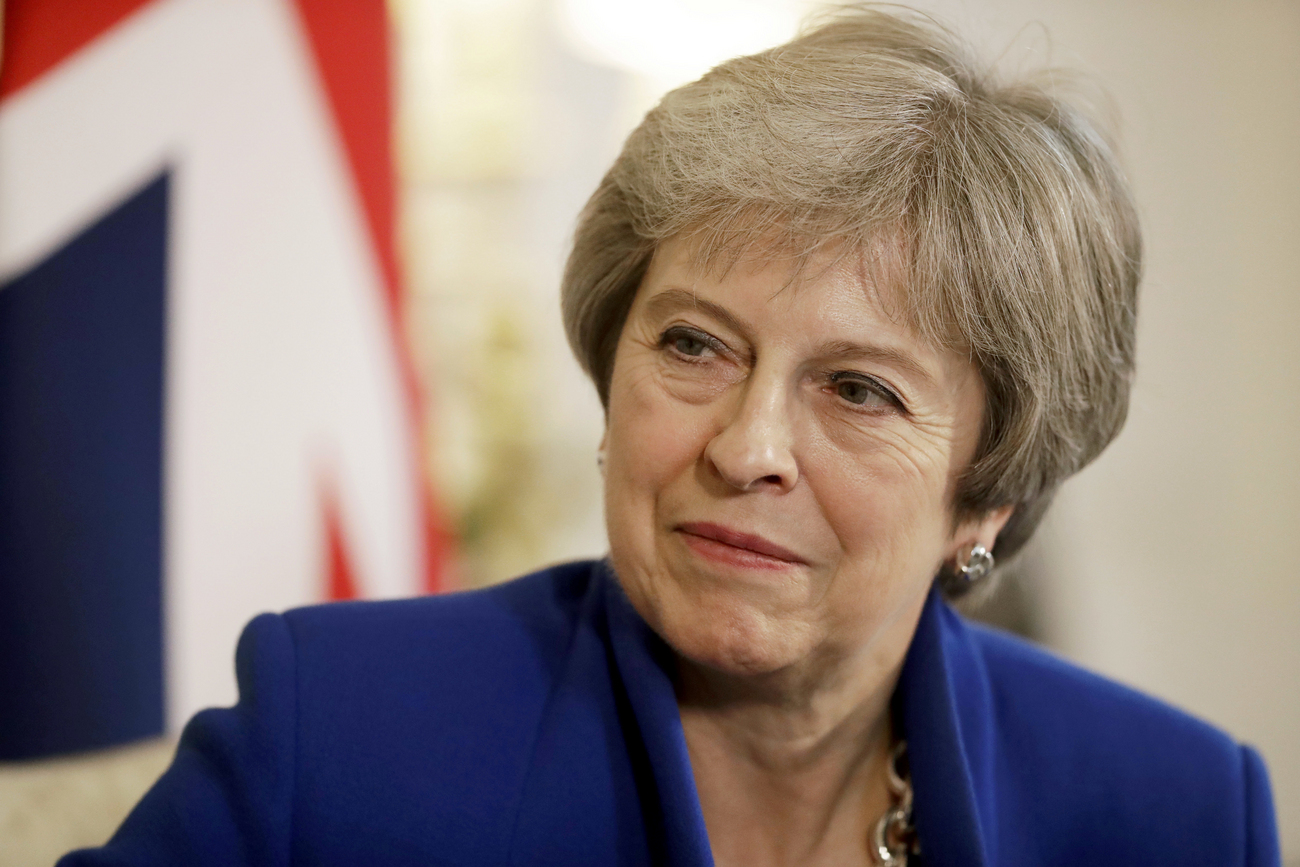 Theresa May tente de faire approuver un accord — Brexit