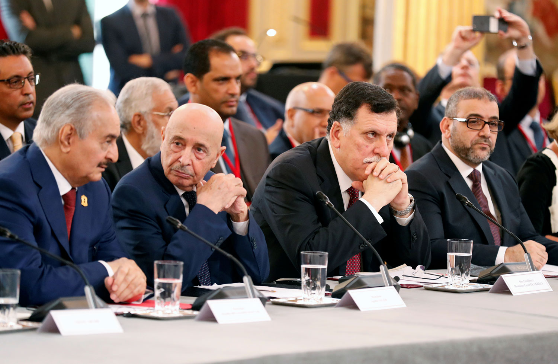 Haftar à Palerme — Crise libyenne