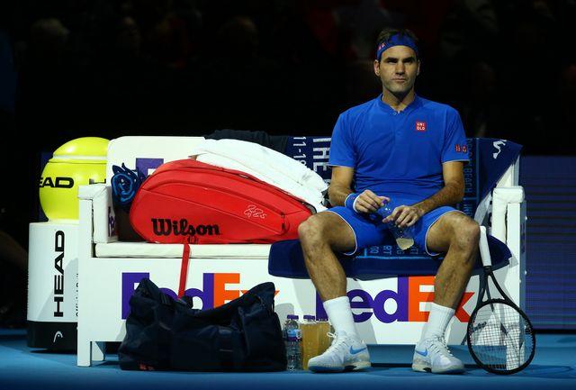 Federer était à des années lumières de son meilleur niveau. [KIeran Galvin - Keystone]