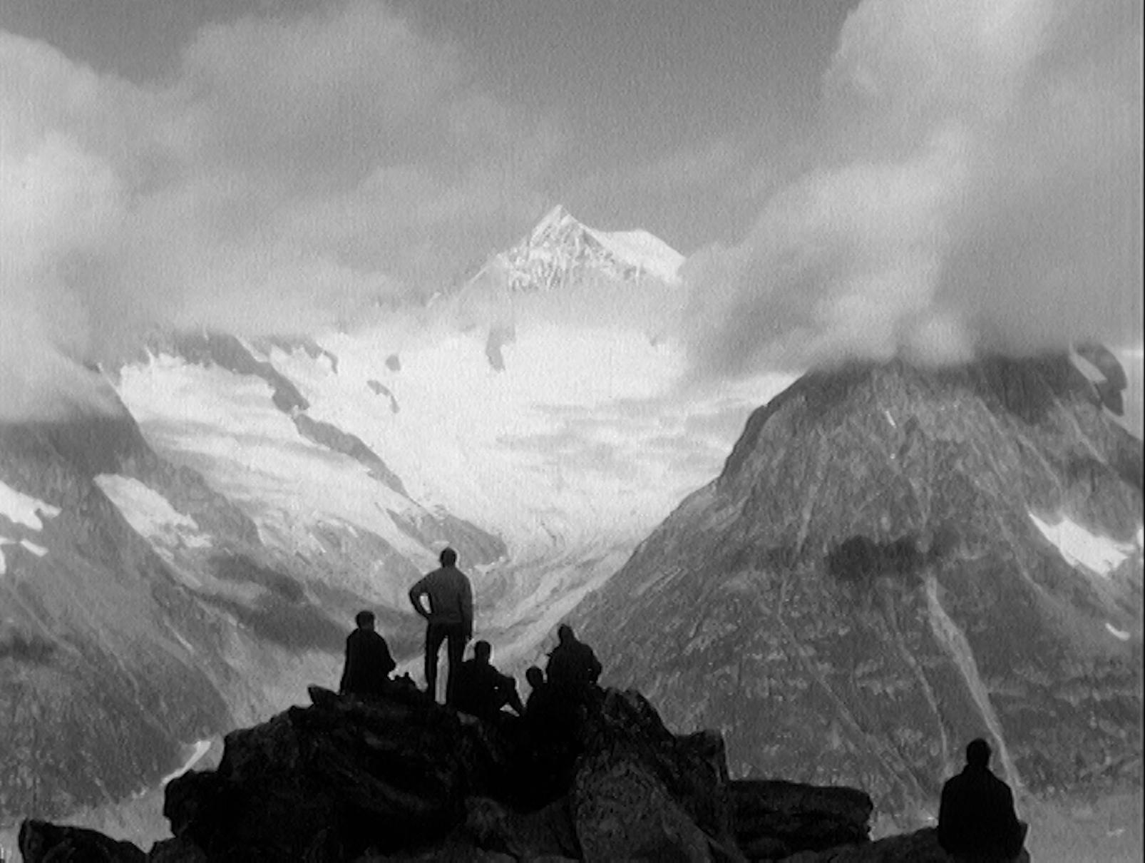 Au glacier d'Aletsch