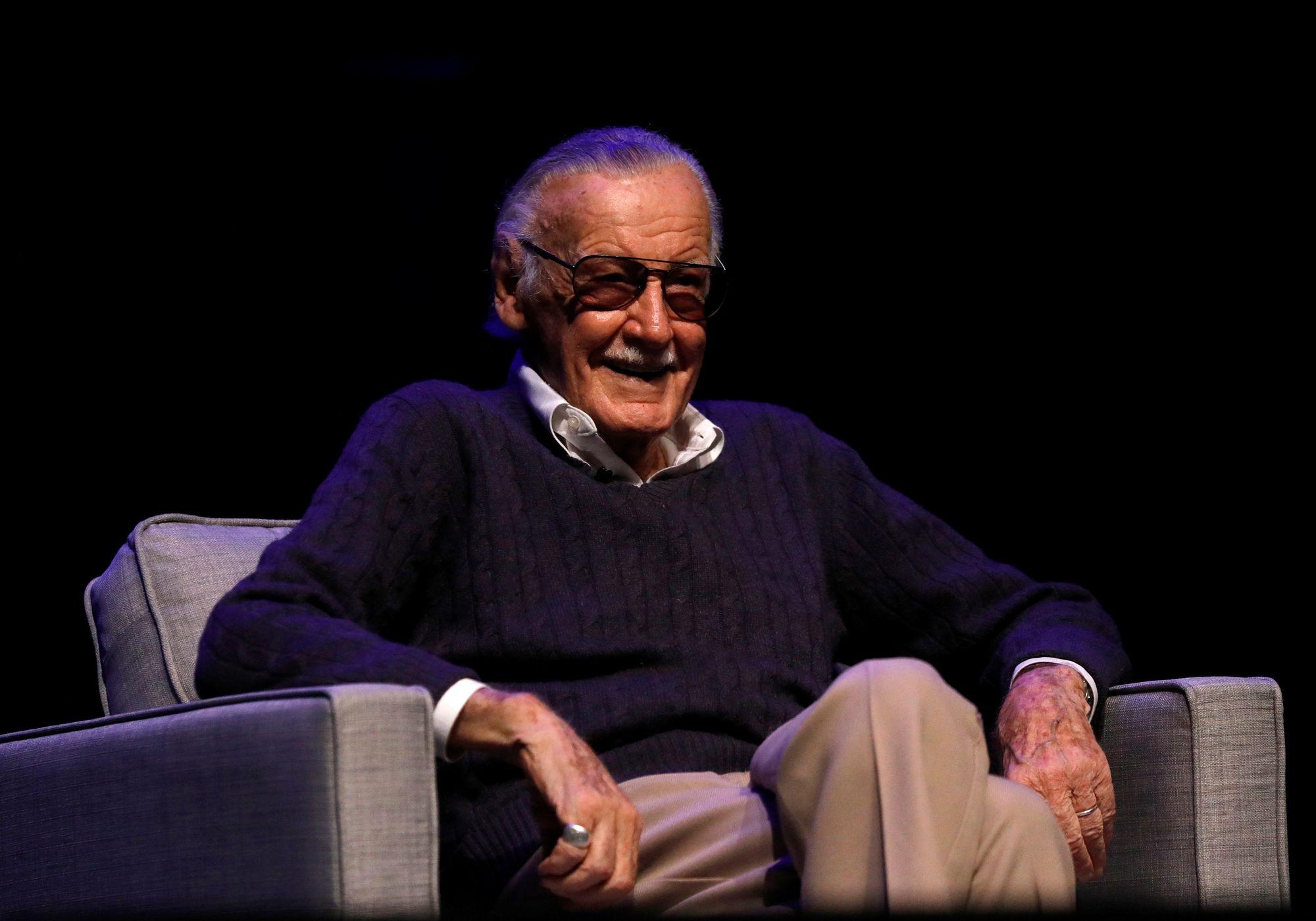 Stan Lee, auteur américain de comics, est décédé à l#039;âge de 95 ans