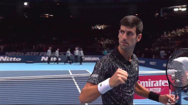 Round Robin, N.Djokovic (SRB) bat J.Isner (USA) (6-4, 6-3) [RTS]