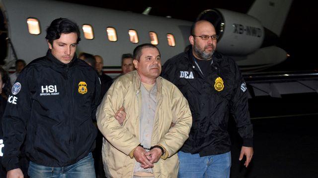 Le baron de la drogue mexicain El Chapo. [U.S. Law Enforcement - AP/Keystone]