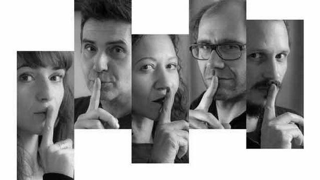 """Image de la pièce """"Mais qui sont ces gens"""" de Manon Pulver et Julien George."""