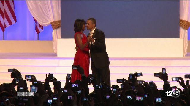 Michelle Obama publie ses Mémoires. [RTS]